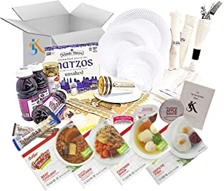 Kosher Shabbos Meals – Ready to Eat – Travel or at Home – Kosher Food – Everything Shabbat in a Box (Package for One)