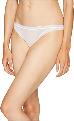 OnGossamer Cotton Mesh Thong G2130