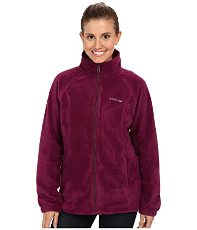 Columbia Benton Springstm Full Zip (Dark Raspberry) Women