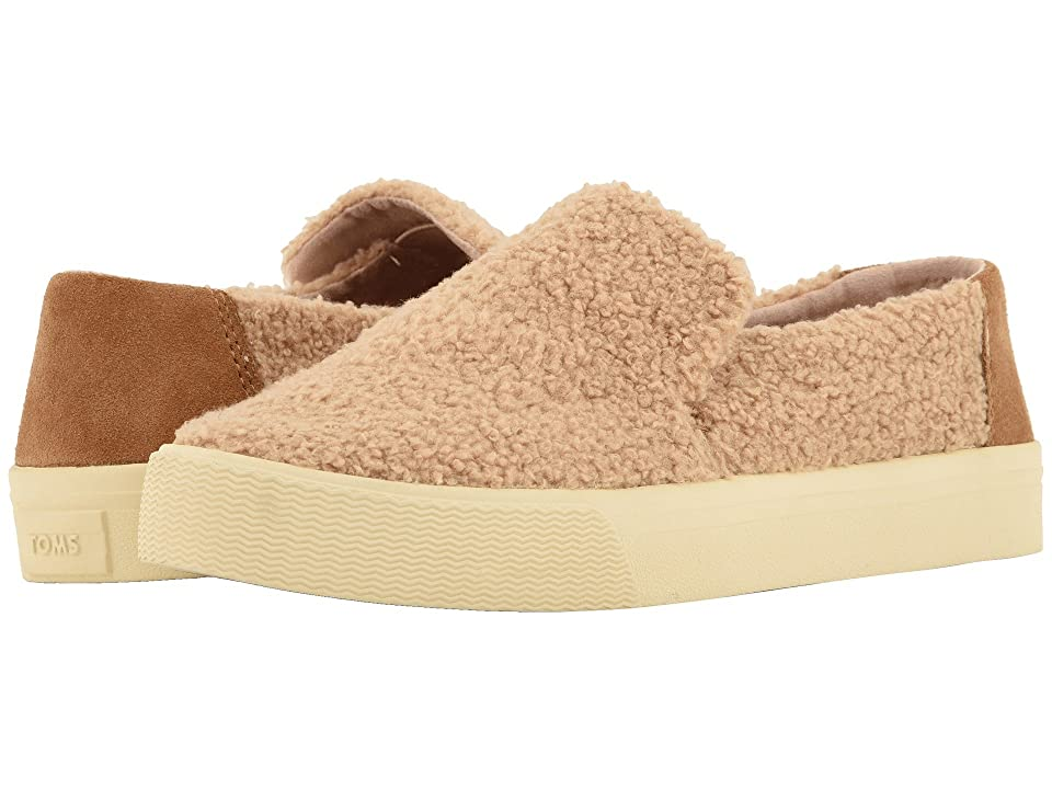 TOMS Sunset (Light Brown Faux Shearling/Suede) Women