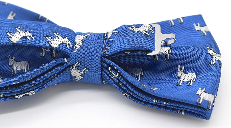 Carahere Mens Bow Ties Handmade Pre-Tied Novel Fun Pattern Bow Ties For Men