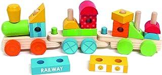 Carter's Wooden Train Set Plush Toy Figure