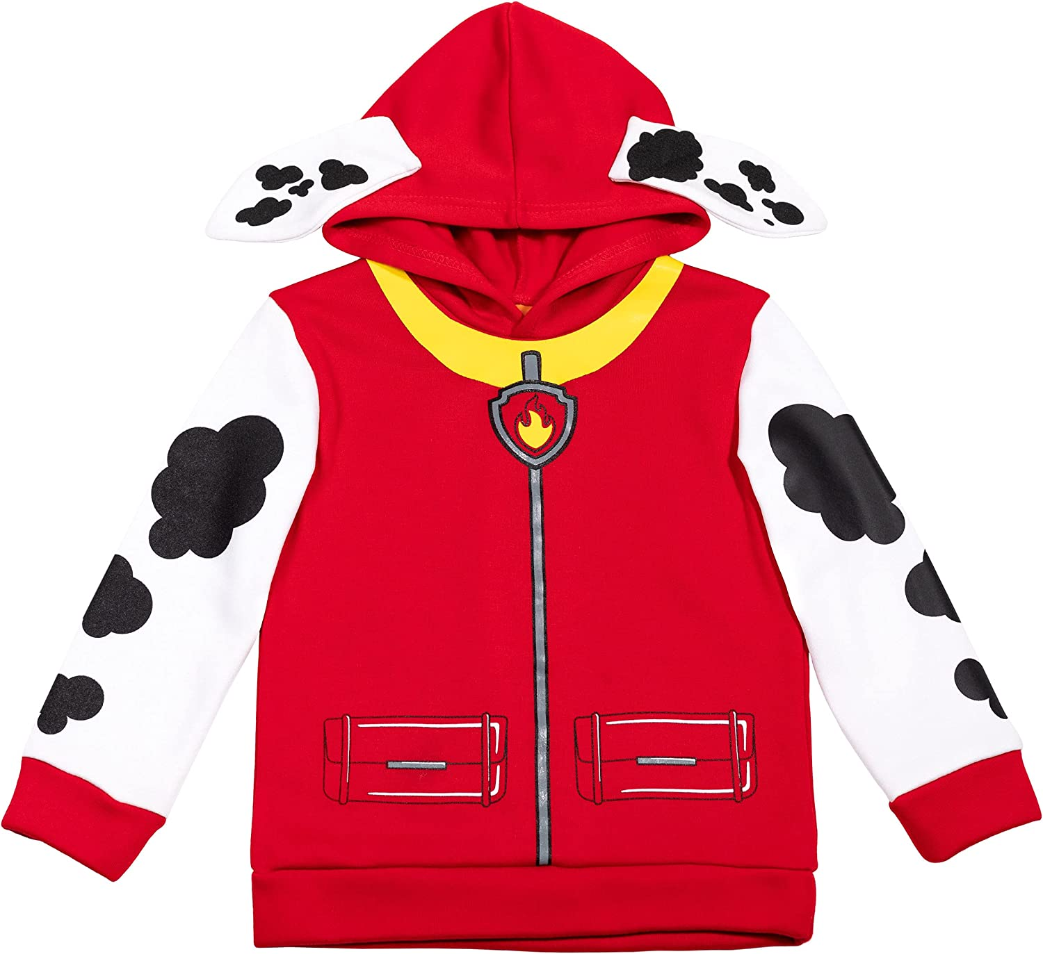 Nickelodeon Paw Patrol Marshall Toddler/Little Boys Fleece Cosplay Pullover Hoodie: Clothing, Shoes & Jewelry