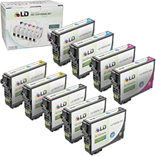LD Products Remanufactured Ink Cartridge Replacement for Epson 200XL ( 3 Black, 2 Cyan, 2 Magenta, 2 Yellow , 9 pk )