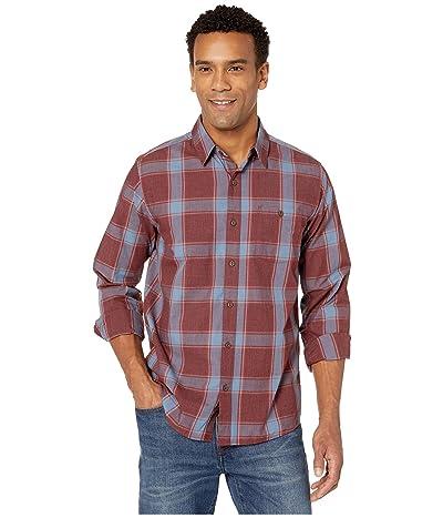 Mountain Hardwear Rogers Passtm Long Sleeve Shirt (Dark Umber) Men