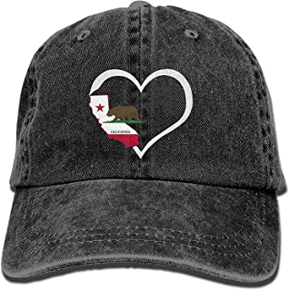 HHBB Gorras de béisbol Love California Republic I Love Cali Life ...