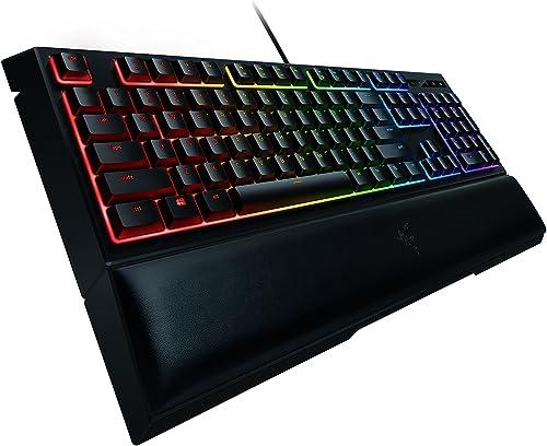 Razer Ornata Chroma Gaming Keyboard: Hybrid Mechanical Key Switches - Customizable Chroma RGB Lighting - Individually...