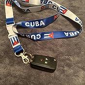 Details about  /Mini Set Lanyard /& Keychain. Cuban Flag