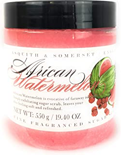Asquith & Somerset African Watermelon Fine Fragranced Sugar Scrub 19.4 OZ