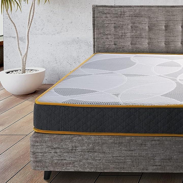 Materasso matrimoniale comfy line 160x190 in memory foam altezza 21 cm B097RTL1SL