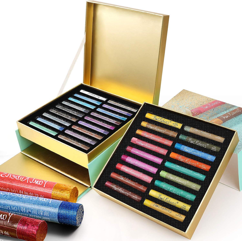 Paul Award-winning store Rubens [Alternative dealer] Oil Pastels 36 Glitter to Create Metallic Colors Sp