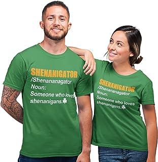 Purple Print House Irish T Shirt Shenanigans St Patricks Day Decorations Ireland Gifts Funny T Shirts