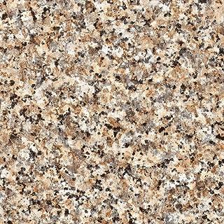 "d-c-fix 346-0181 Decorative Self-Adhesive Film, Brown Granite, 17"" x 78"" Roll"