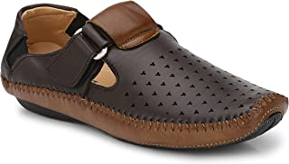 Andrew Scott Men's Brown Leather Formal Shoes- 6 UK/India (40 EU) (606Brown_6)