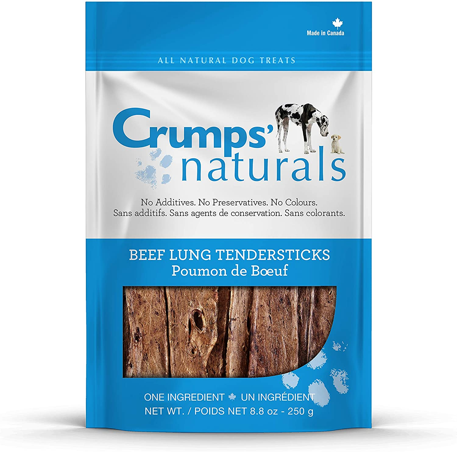 Crumps' Naturals Beef Genuine Outlet SALE Free Shipping Tender For Sticks 8.8-Ounce Pets