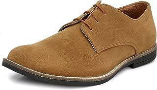 HiREL'S Men's Suede Derby Casual Shoes
