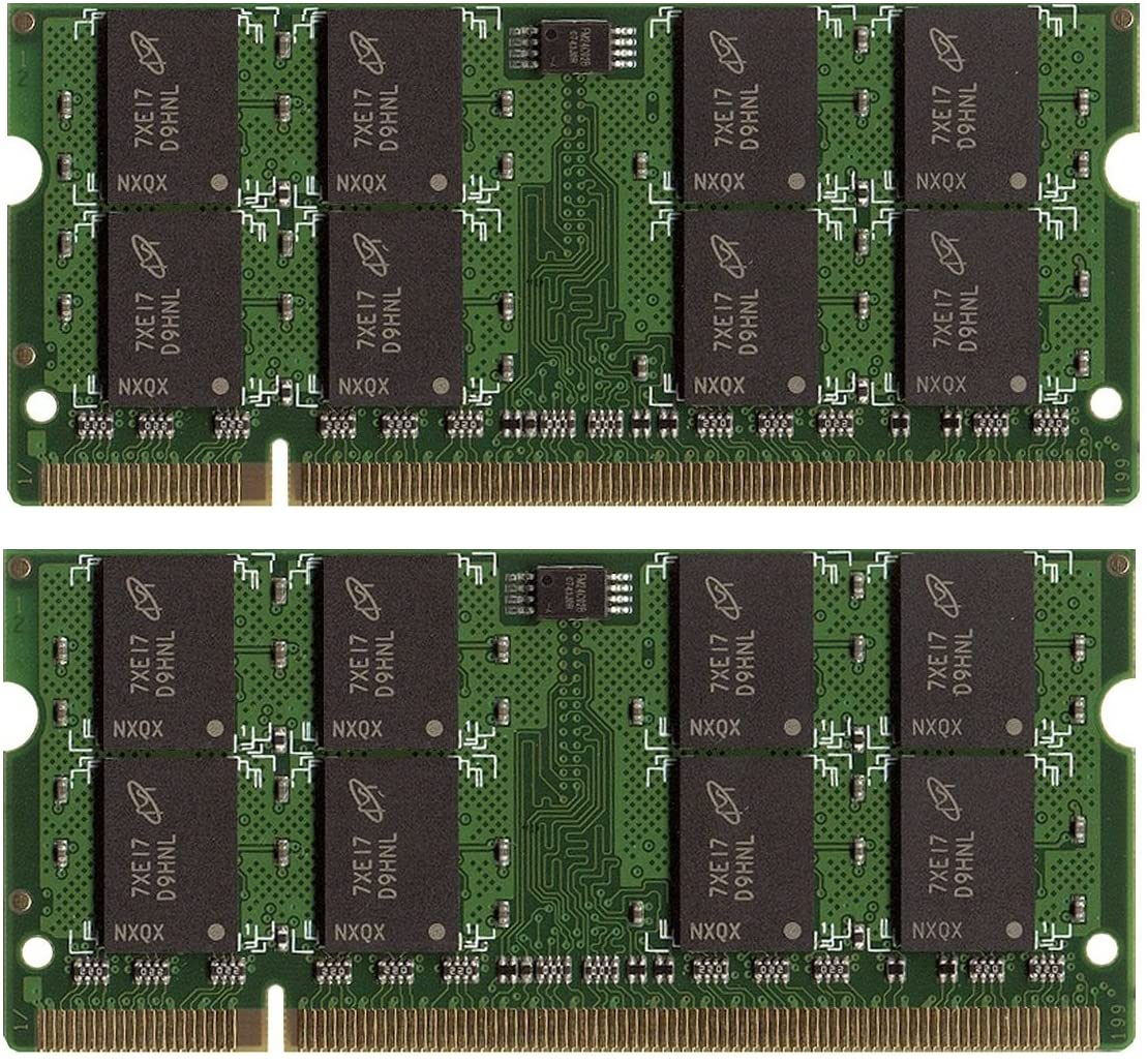 New Free shipping 8GB 4GBx2 Memory Louisville-Jefferson County Mall for Laptop DELL DDR2 D830 Latitude