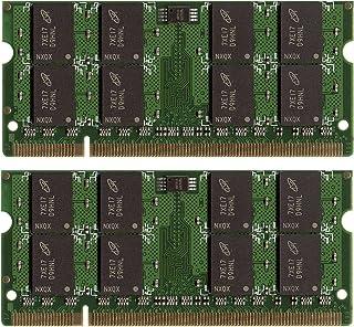 New! 4GB (2X2GB) DDR2-800 SODIMM Laptop Memory PC2-6400