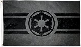 WinCraft Star Wars Empire Logo Deluxe Flag, Multicolor, 3' x 5'