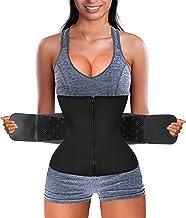 Gotoly Women Waist Trainer Corset Cincher Trimmer Belt Slimming Body Shaper Belly Weight Loss Sport Girdle