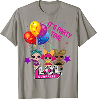 it's party time shirt