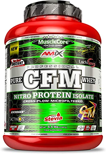 AMIX MuscleCore CFM Nitro Protein Isolate - 2 kg Strawberry with Yogurt
