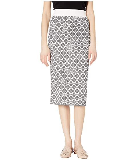 Kate Spade New York Floral Knit Skirt