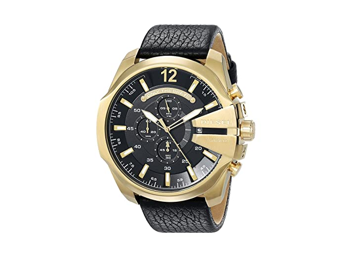 Diesel  Mega Chief (Black 3) Chronograph Watches