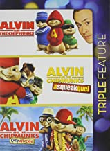 Alvin Chipmunks Triple Feature Alvin and the Chipmunks / Alvin and the chipmunks: The squeakquel / Alvin and the chipmunks: Chipwrecked