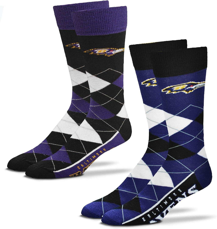 Home /& Away Argyle Dress Socks One Size Fits Most 2 Pack FBF Originals