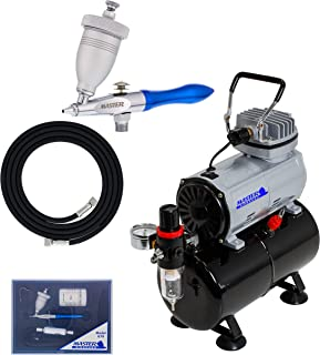 Master Airbrush Model G78 Etching Airbrush System with Airbrush-Depot TC-20T
