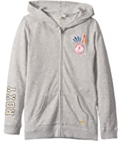 The Little Mermaid Girls Plan Zip Hoodie (Big Kids)
