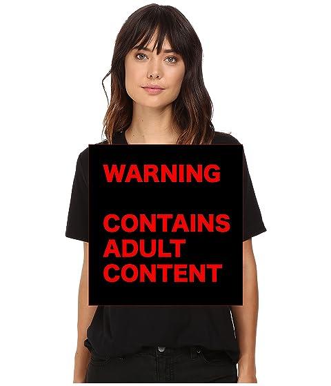 Camiseta cuello negro Beautiful is Neon Beautiful en Life F con redondo X0vw0x