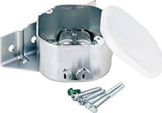 Westinghouse Lighting 0124000 Sidemount Plus Fan Box, 2-1/8 Inch Deep