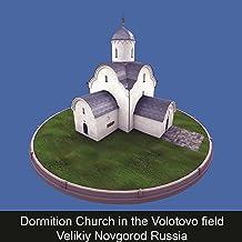 Dormition Church in the Volotovo field Velikiy Novgorod Russia (RUS)