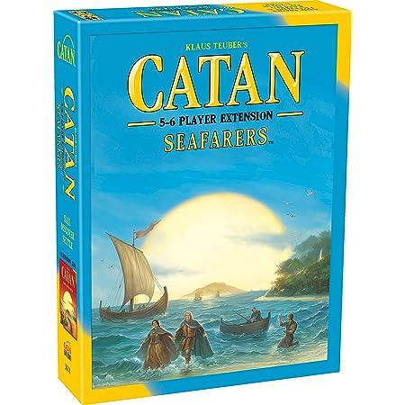 CATAN Seafarers ボードゲーム 拡張 CATAN Seafarer 拡張 5~6人でプレイヤーが楽しめる   大人と家族のためのボードゲーム   アドベンチャーボードゲーム   Catan Studio 製 [並行輸入品]