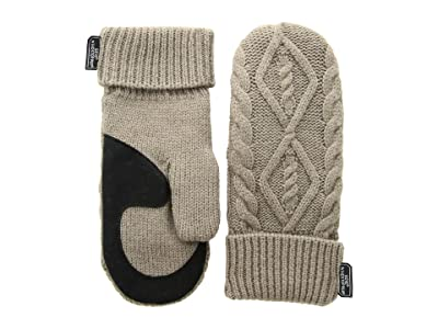 Outdoor Research Lodgeside Mitts (Walnut Heather) Ski Gloves
