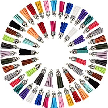 LAAT Gland Pompon Mini Gland Pendentif Accessoires de Frange pour Porte-Cl/és Accessoires de Bricolage DIY 10pcs