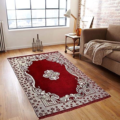 GS Home 5D Designer Superfine Exclusive Velvet Carpet Rug Living Room 5 Feet X 7 Feet