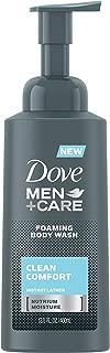 Dove Men+Care Foaming Body Wash, Clean Comfort, 13.5 Ounce