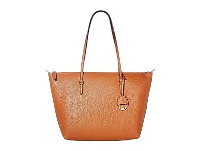 LAUREN Ralph Lauren Merrimack Keaton 31 (Lauren Tan) Tote Handbags