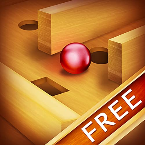 Tilt Wood Labyrinth : Brother and Sister Agility Puzzle Game Night - Free