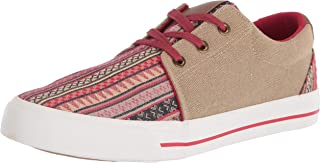 Roper womens Casual Shoe Sneaker, Tan, 6.5 US