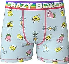 Crazy Boxer Men's Spongebob Squarepants Briefs Underwear Size L Blue