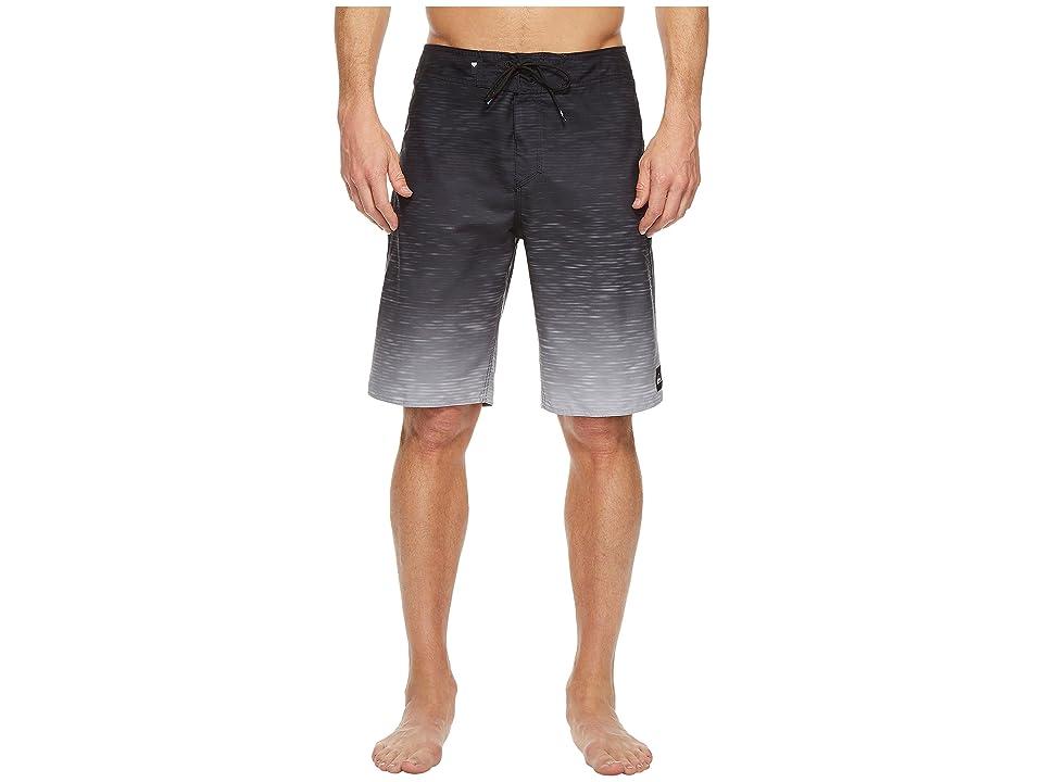 Quiksilver Momentum Fader 21 Boardshorts (Black) Men's Swimwear