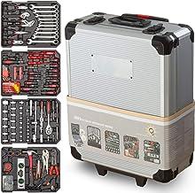 Gereedschapskist Optimus 1050-delen - Universele gereedschapsset - Aluminium Profi Werkzeugtrolley - Gereedschapskist gevu...