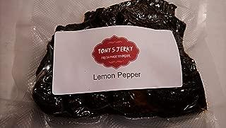 lemon pepper beef jerky