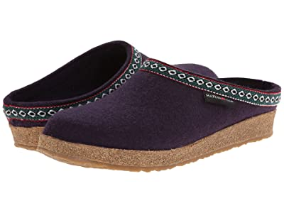 Haflinger GZ Classic Grizzly (Lavender Purple) Clog Shoes