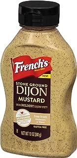 French's Stone Ground Dijon Mustard, 12 oz, Pack of 8
