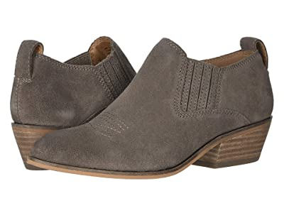 FRYE AND CO. Rubie Western Slip-On (Grey Suede) Women